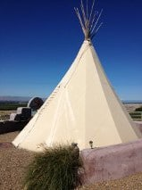 The luxe teepee