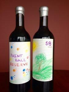 Our fab bottles from Covington Cellars Wine Blending Workshop